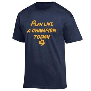 Navy Champion Notre Dame Fighting Irish Adult Play Like a T-Shirt