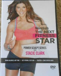 Details about Women's Health The Next Fitness Star Power Sculpt Series with  Stacie Clark DVD
