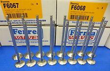 Ferrea 6000 Turbo Valve Honda Civic 1.6 SOHC 1992-20 D16 D16Y8 D16Y7 D16Y5 D16Z6