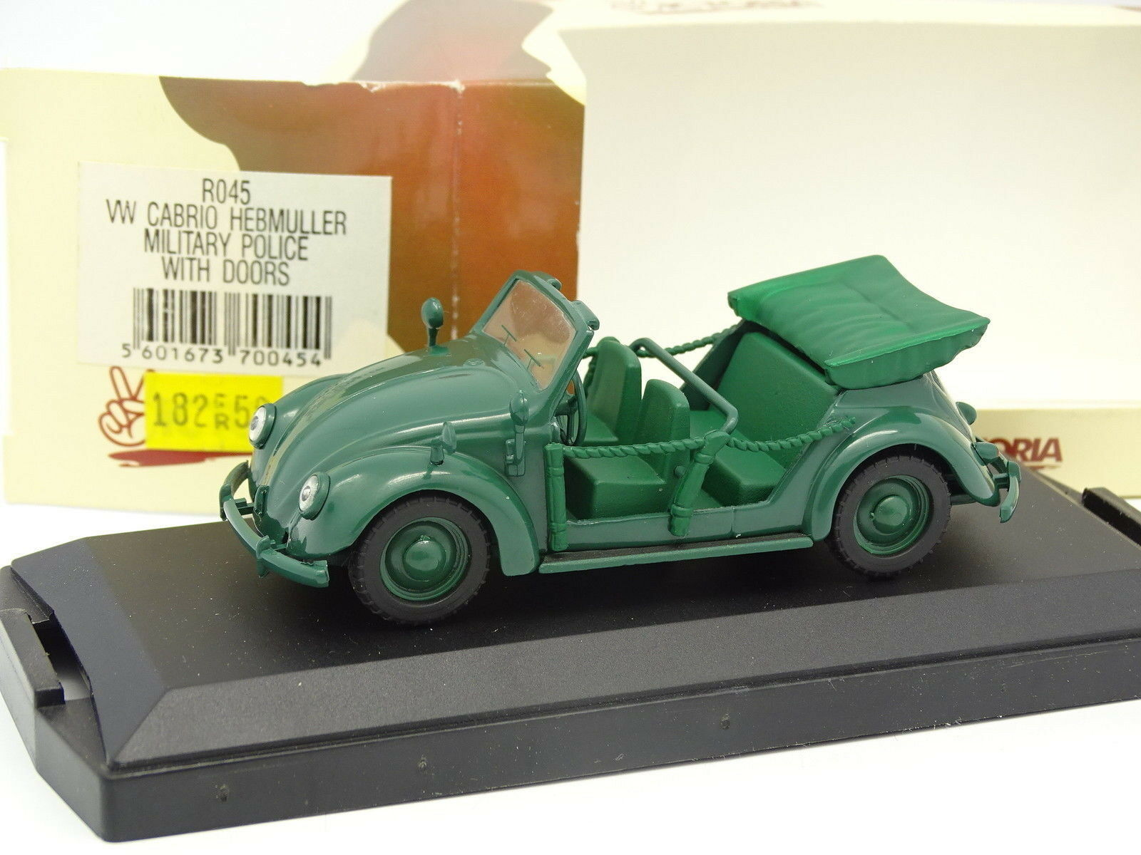 Victoria Militaire Army 1 43 - VW Cabrio Hebmuller Military Police ss Portes