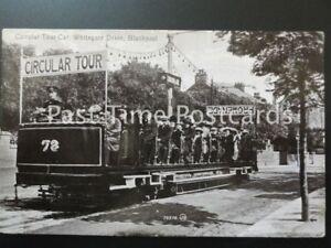 c1913-Blackpool-CIRCULAR-TOUR-CAR-Whitegate-Drive