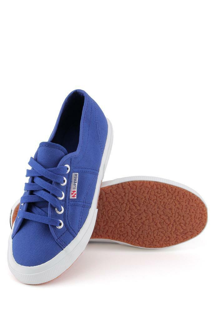 Superga 2750 Cotu Classic Sneaker Intense bluee Lace-up sneaker Canvas Tennis New