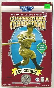 ⚾️ 1996 STARTING LINEUP - SLU MLB - LOU GEHRIG - YANKEES - 12-INCH - COOPERSTOWN