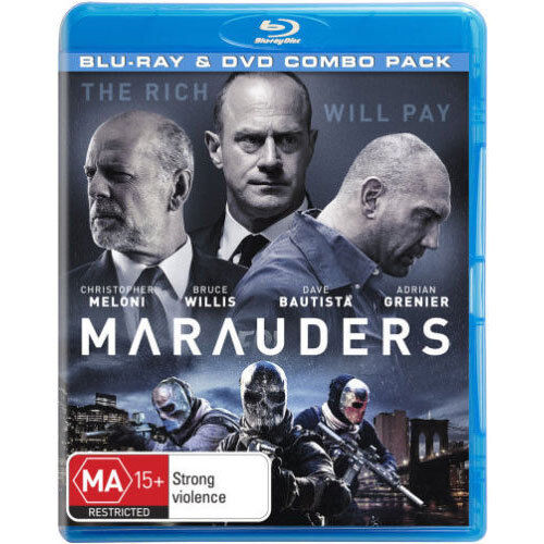 Marauders Bluray NEW BluRay