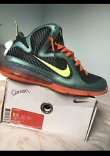buy popular bbf65 8d529 item 5 WORN TWICE Nike Lebron IX 9 Cannon Volt-Slate Orange Cannon 469764- 004 Size 9.5 -WORN TWICE Nike Lebron IX 9 Cannon Volt-Slate Orange Cannon  ...