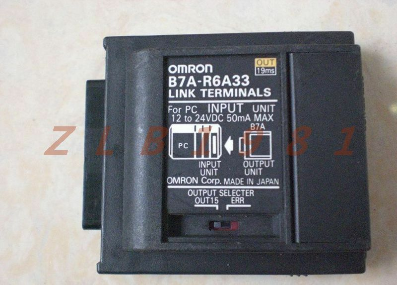 ONE USED- OMRON terminals B7A-R6A33