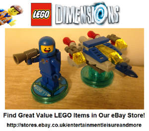 Genuine-LEGO-Dimensions-Benny-Fun-Pack-71214-The-LEGO-Movie-Trusted-Seller