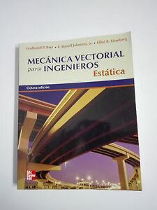 LIBRO MECANICA VECTORIAL PARA INGENIEROS Estatica 8ª
