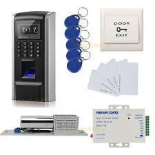 Nuevo sistema de control de acceso de huella dactilar + ID del sistema