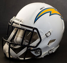 ***CUSTOM*** SAN DIEGO CHARGERS NFL Riddell Full Size SPEED Football Helmet