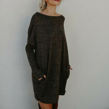 620498728bf item 2 UK Womens Oversized Knitted Long Sweater Dress Jumper Ladies Winter  Top Pullover -UK Womens Oversized Knitted Long Sweater Dress Jumper Ladies  Winter ...