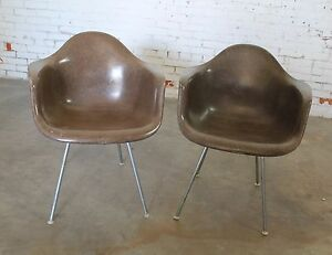 Image Is Loading Herman Miller Eames Molded Fiberglass DAX Arm Shell