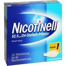 NICOTINELL 52,5 mg 24 Stunden Pflaster  transdermal     21 st    PZN 110088