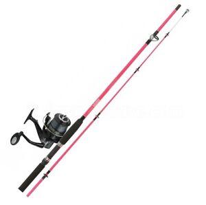 Jarvis walker pink vixen 9 39 pier combo ladies girls for Ladies fishing rods