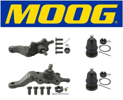 Moog Front Upper /& Lower Ball Joints Fits 2002 Toyota Sequoia  K90262 K90263