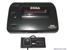 ## SEGA Master System 2 Konsole + Pad + Sonic 1 + Strom- & TV-Anschluss - TOP ##