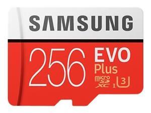 Samsung MB-MC256GA/EU EVO Plus MicroSD da 256 GB, UHS-I, Classe U3 Adattatore SD