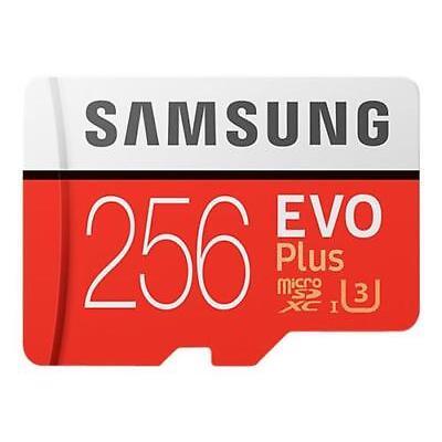 MICRO SD EVO PLUS 256 GB UHS I ADATTATORE