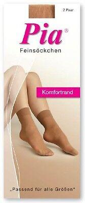 Gewissenhaft 10 Paar Damen Komfortfeinsöckchen 30 Den 6:6 Qualität Perle Lyon Sand Rs -10226