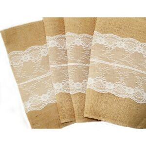 Hessian-Burlap-Table-Runner-and-with-Lace-Wedding-Cloth-Rustic-Country-Decor