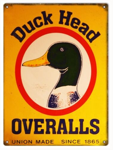 Duck Head Overalls Nostalgic Country Sign