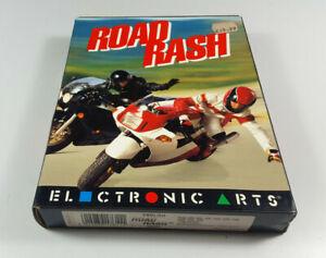 ROAD-RASH-Commodore-Amiga-Spiel-Big-Box-VGC-Vintage-Collectible-Sammler