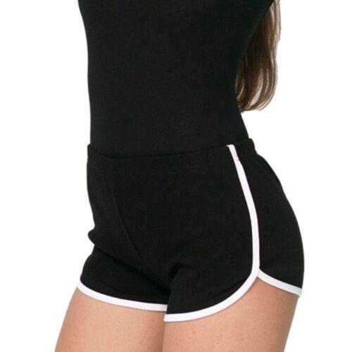 Women Summer Casual Running Sports Shorts Yoga Gym Jogging Waistband Hot Pants