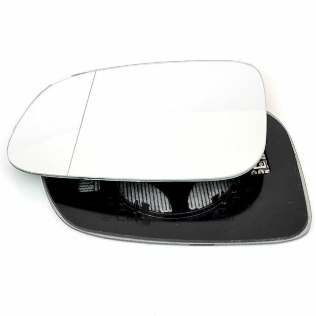 plate Left Passenger side Wide Angle Wing door mirror glass for Volvo s40 07-08