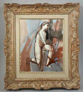 Decouverte-d-039-une-grande-painter-painting-beautiful-nude-manners-100