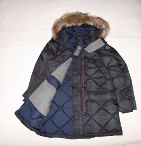 bf031b91e0c Image is loading Womens-Abercrombie-amp-Fitch-Water-Resistant-Quilted-Parka-