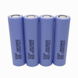 4X-18650-ICR-3000mAh-High-Drain-3-7V-Li-ion-Rechargeable-Battery