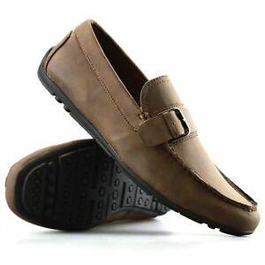 Mens-New-Slip-On-Boat-Deck-Casual-Mocassin-Designer-Loafers-Driving-Shoes-Size
