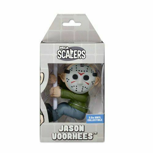"NECA Scalers XL Large 3.5/"" Jason Voorhees Friday the 13th Comme neuf IN BOX Horror Figure Nice!"
