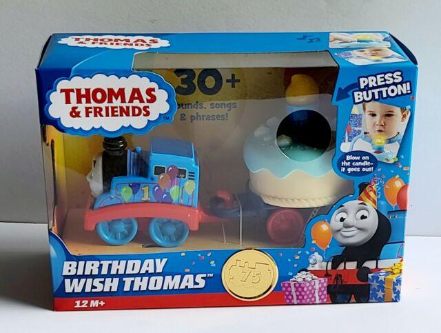 NEW Thomas & Friends Birthday Wish Thomas Musical Train Set