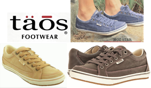 Taos Footwear Canvas comfort lace up