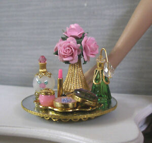 """"""" GLAMOUR GAL """" PERFUME VANITY SET ~ for Tyler ~ 16"""" Doll ~SIGNED"""