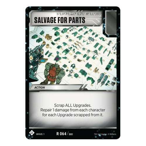 Wave 1 TRANSFORMERS TCG Salvage for Parts