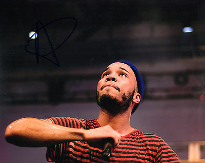 Signed 8x10 Photo Ad8 Coa Devoted Gfa Hip Hop Rapper Anderson .paak