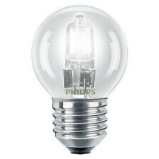 Philips EcoClassic 18w = 25w E27 Dimmable Golf Ball Globe Lamp Clear Light Bulb