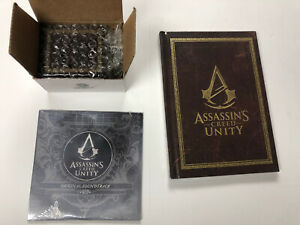 Assassin's Creed Unity Art of Artbook + Soundtrack CD + Music Box NEW Collector
