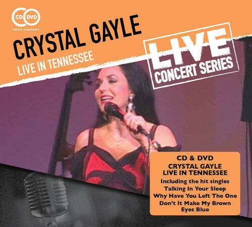Crystal Gayle - Live in Tennessee [New CD] With DVD
