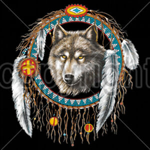 Dream Catcher Wolf Nat...