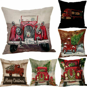 Christmas-Tree-Cotton-Linen-Pillow-Case-Cover-Home-Decor-New-Throw-Cushion