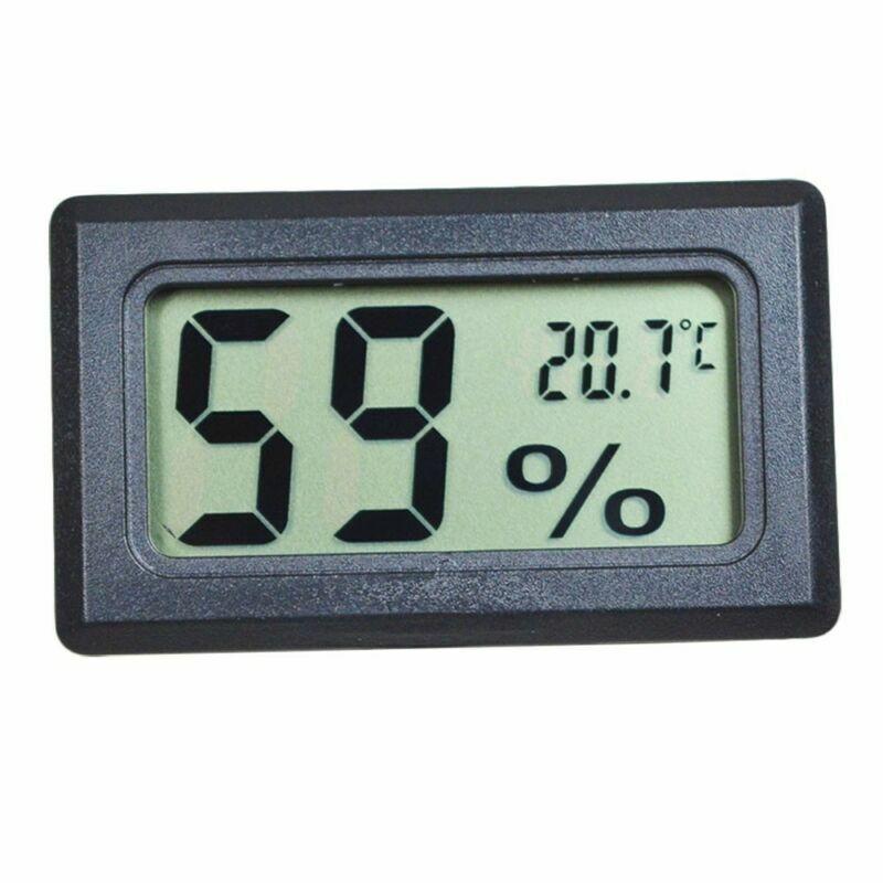 Digital LCD Thermometer Hygrometer Temperature Humidity -50~70℃ 10%~99%RH WFEU