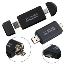 YOUKITTY 3in1 Micro USB Adapter SD Card Reader Card Reader for OTG Mobile Phone New Black