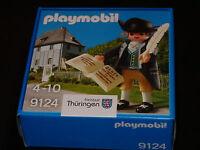Playmobil 9124 Sonderfigur Thüringen - Johann Wolfgang von Goethe  OVP