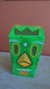 Burger King Jalapeno Chicken Fries Box (Box of 175+) Brand new