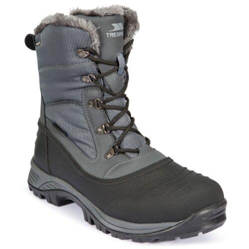 Ski Boots Mens Apres Winter New Grey Trespass 12 7 Sizes Snow Thermal Lined wqqTOH0X