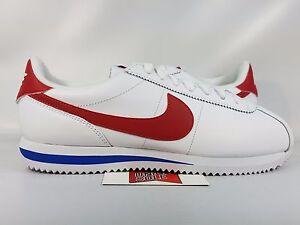 5d1ea9c9d81 Nike Cortez Leather FORREST GUMP RED WHITE BLUE 882254-164 sz 7 ...
