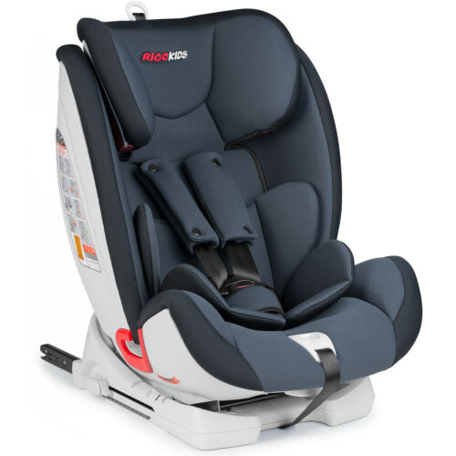 Kinderautositz Autositz 1-3 Gruppe Isofix Top-Theter-Anker Ricokids Reno graphit